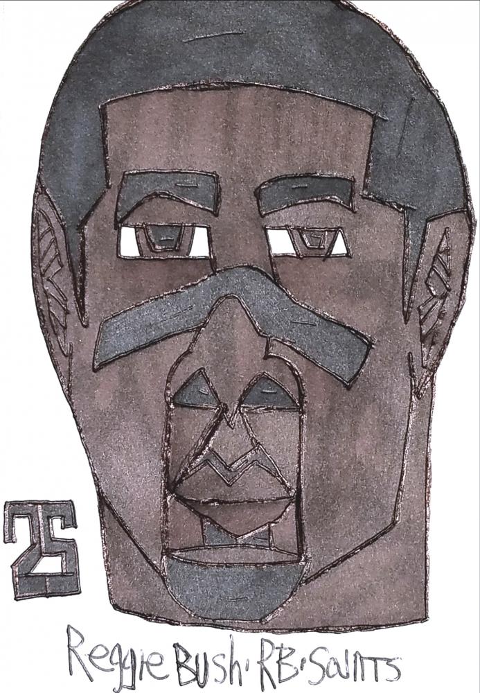 Reggie Bush by armattock